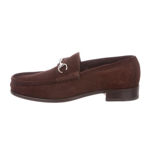 Gucci Other - Gucci Suede Horsebit Loafers